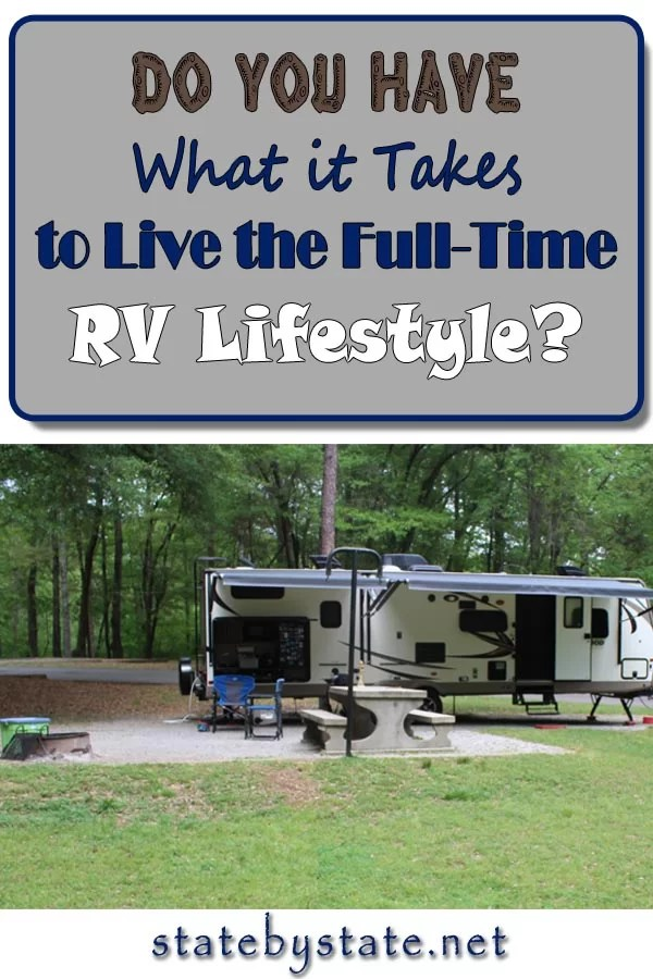 Do you have what it takes to live the full-time RV lifestyle