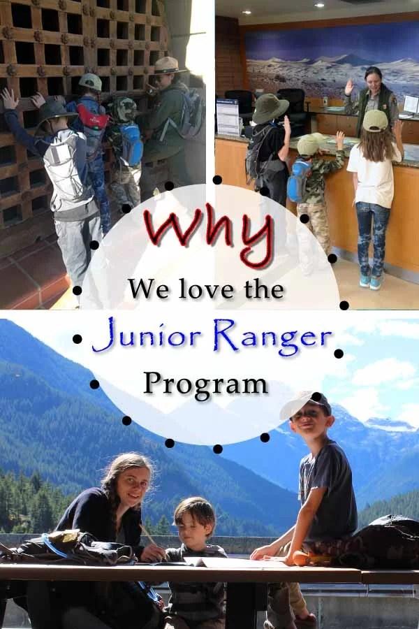Why we love the Junior Ranger Program Pin