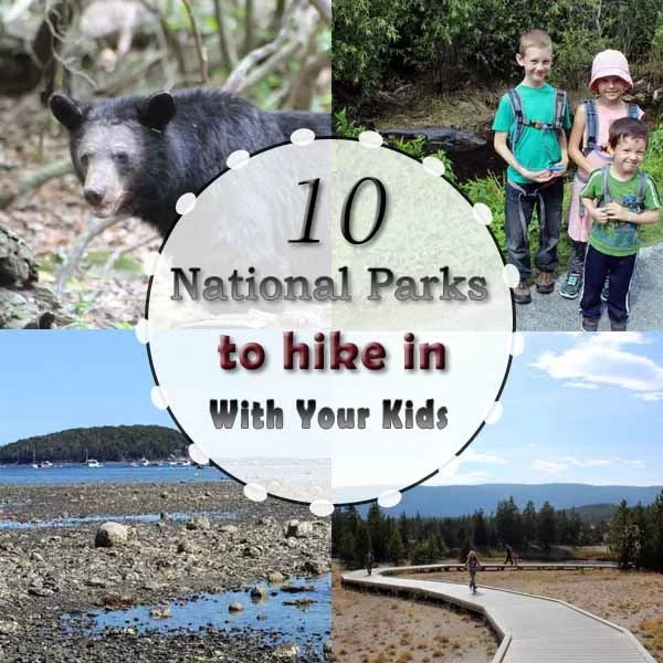 10 Best National Parks to hike in with kids