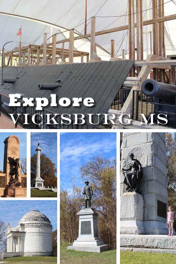 Explore Vicksburg MS pin