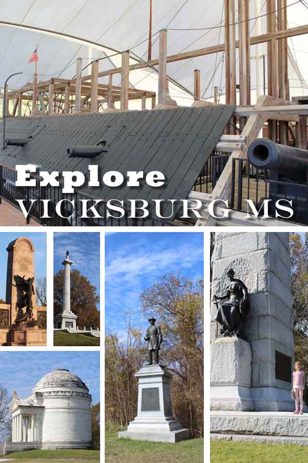 Explore Vicksburg MS pin