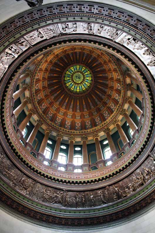 The dome was impressive.
