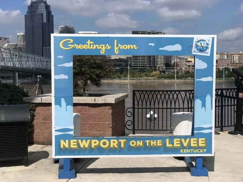 Newport on the Levee is in a county in Northern Kentucky
