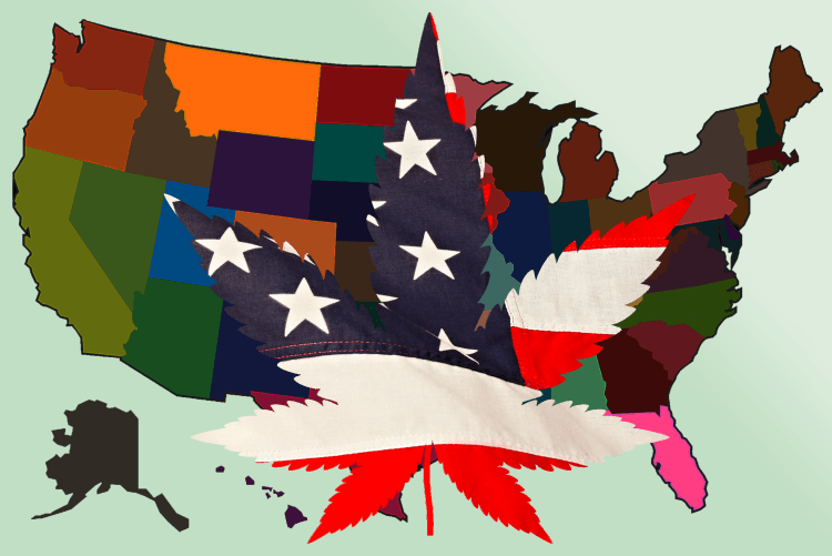 Voters in 5 States Will Vote on Marijuana Legalization This November