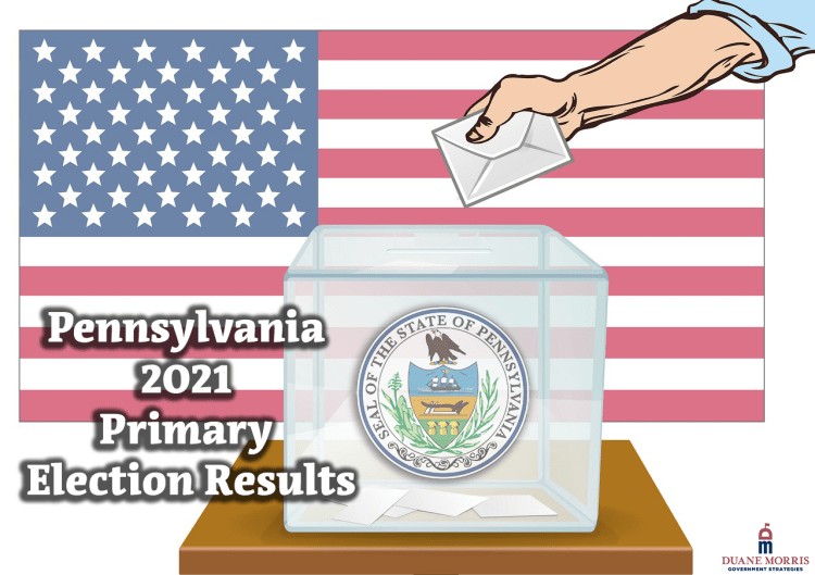 pennsylvania 2021 primary election results
