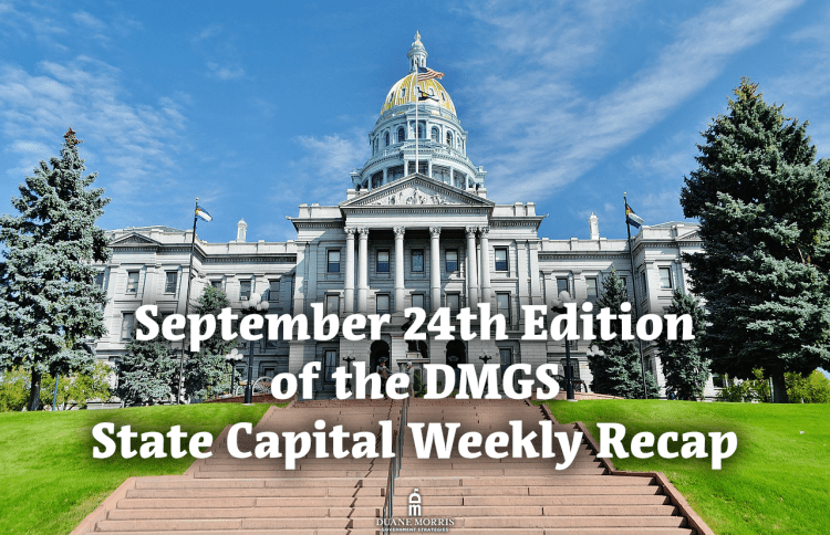 September 24th Edition of the DMGS State Capital Weekly Recap: Colorado Allows Human Body Composting, Nebraska's 2022 Primary Could Be Delayed, NJ Cannabis Delays, and More