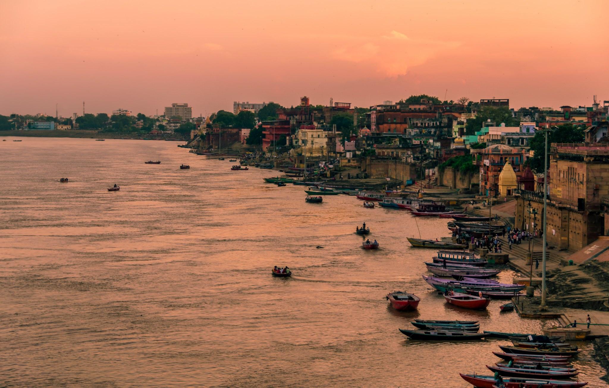 Evening Sunset Vanarasi