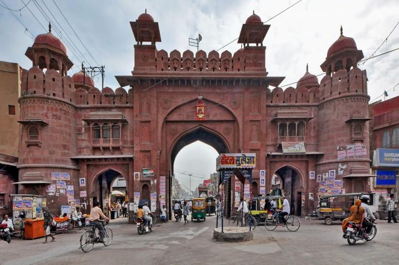 Kote Gate market, Bikaner - Rajasthan Tours