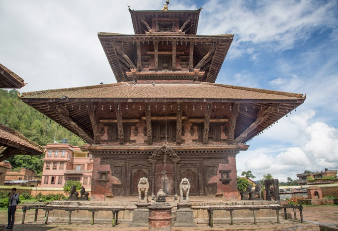 Indreshwor Temple in Panauti Nepal