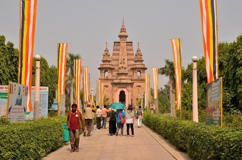 Buddhist Sarnath Temple Varanasi