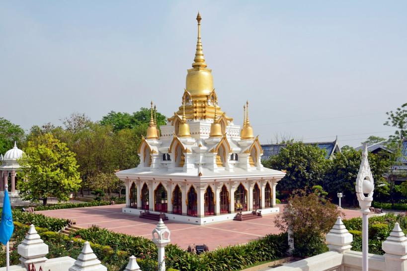 Wat Thai Temple in Kushinagar