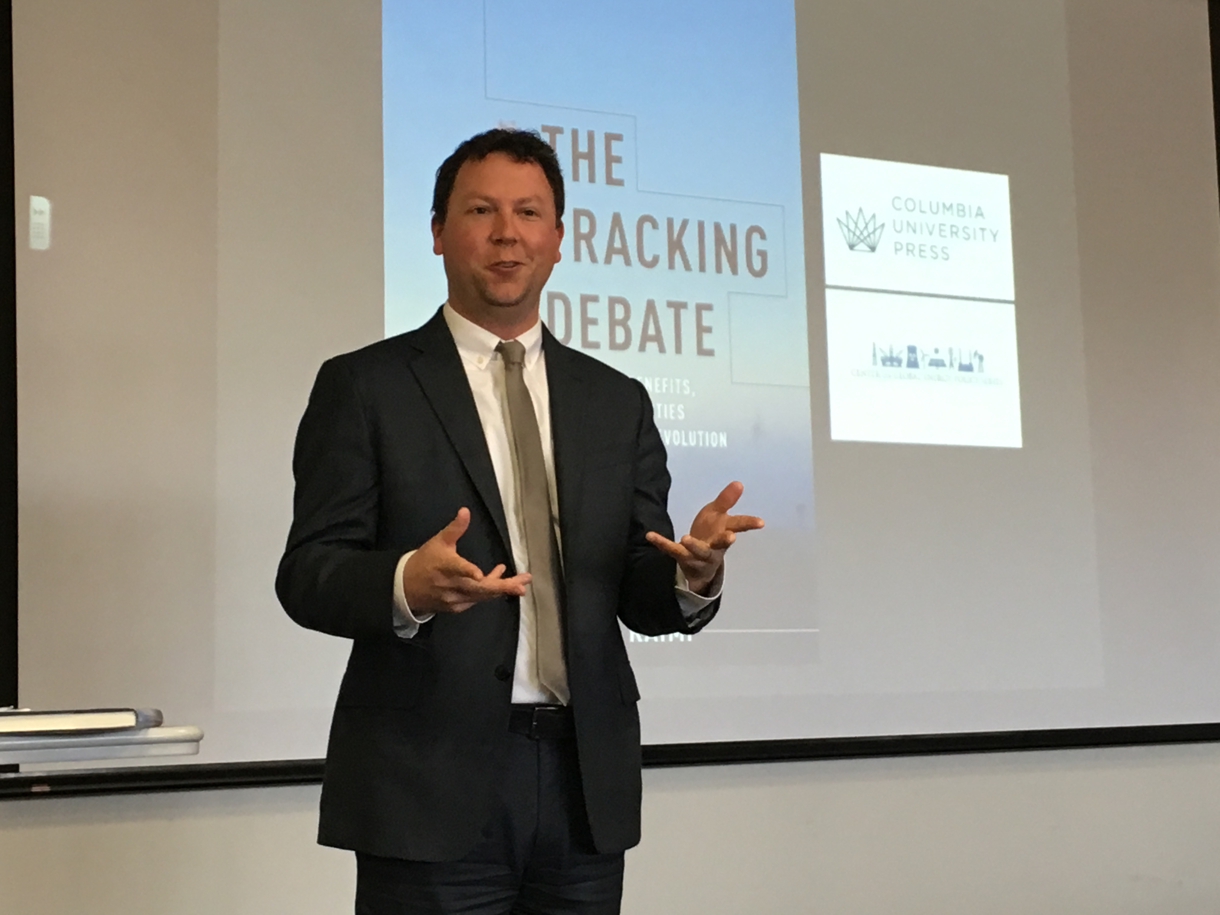 Author Answers Hot Button Questions On Fracking Including Climate Impact