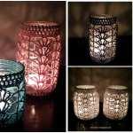 Light Jar Cover Free Crochet Pattern