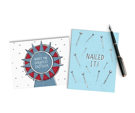 Multi Father's Day Cards mock-up 2