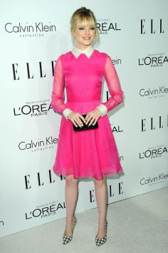 EMMA STONE at ELLE's Women in Hollywood Event in Beverly Hills