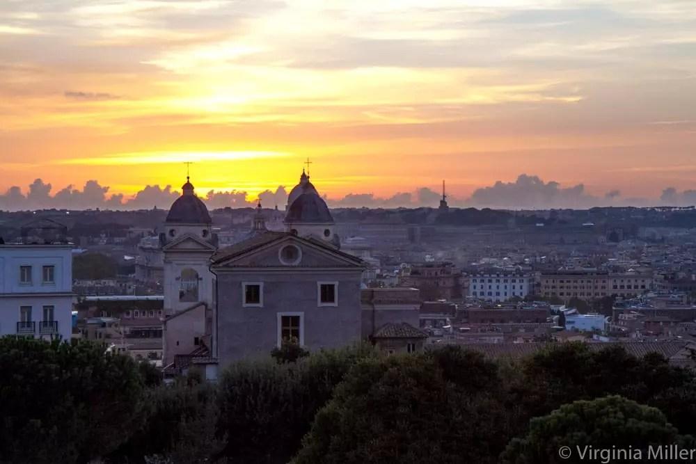 rome-sunset-2013-copyright-virginia-miller