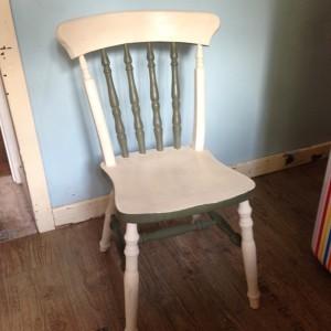 Farmhouse Chair in Annie Sloan Old Ochre