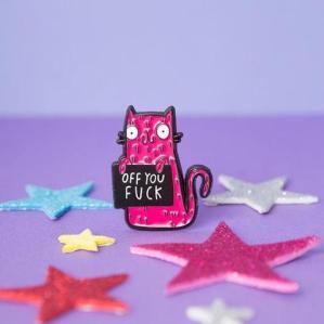 Sweary Cats & Naughty Pin Badges