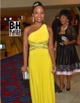 Chris Tucker's fiance Cynnie - Andrew Young birthday party