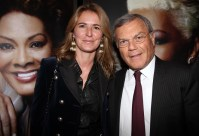 Sir Martin Sorrell and his lovely wife sat next to me. They were so charming and in love.