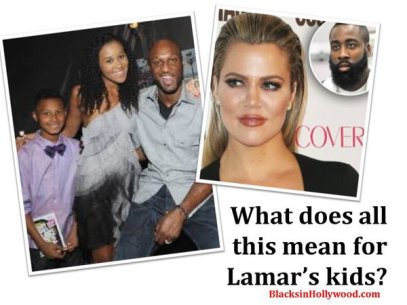 Lamar Odom's wife doesn't want his real family around