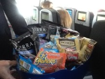 jet Blue free unlimited snacks 2016