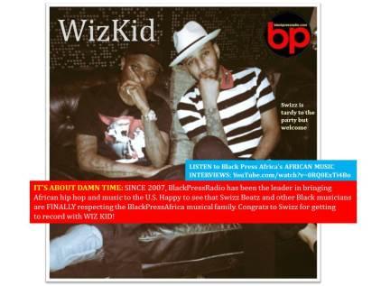 Swizz Beatz -- Late to the Party - WizKid - BlackPressRadio
