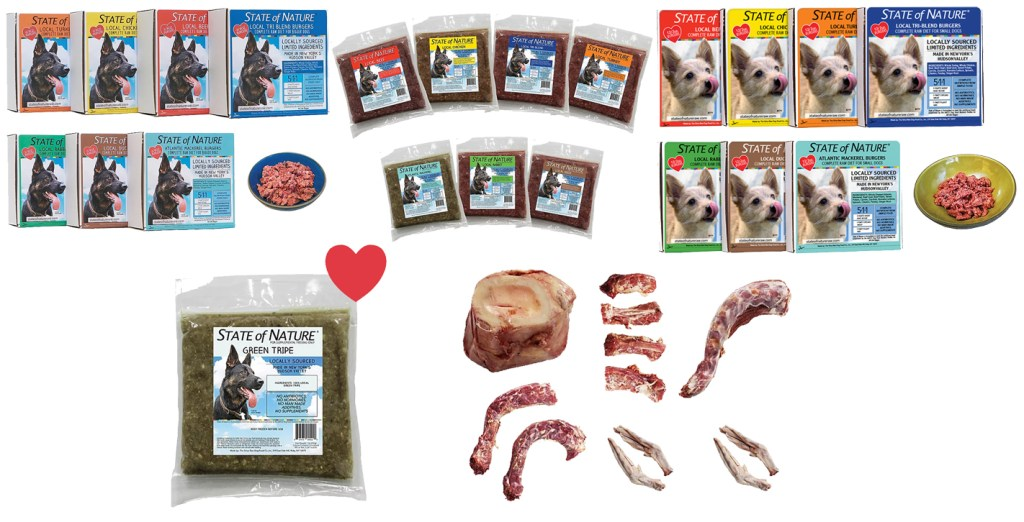 New Raw Dog Food Products