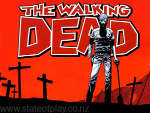 The more graphic dead walking!