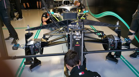Epson innovations and F1's Mercedes-AMG Petronas Motorsport