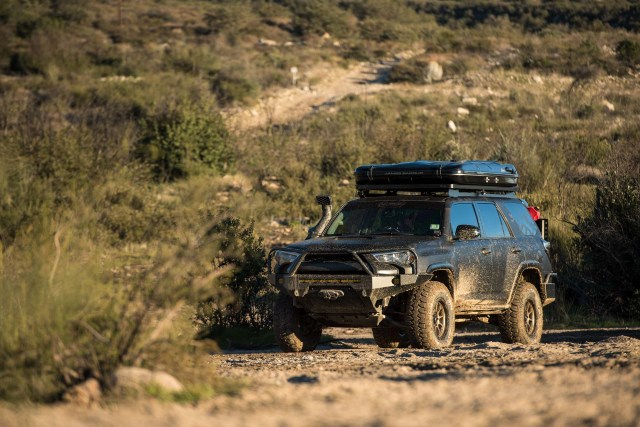 Toyota 4Runner with Milestar Patagonia MTs