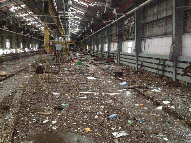 Images from the Metropolitan Transit Authority of Sandy damage in the NYC area.