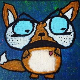 So Fly (acrylics on canvas 10x8)