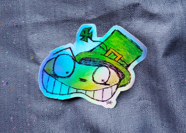 LepreAngx Holographic Sticker