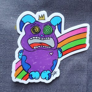 Enjoy Your Rainbow Sticker