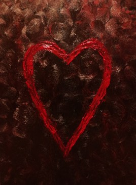 Wicked Love (oils on canvas 18 x 24 x .75) *Sold*