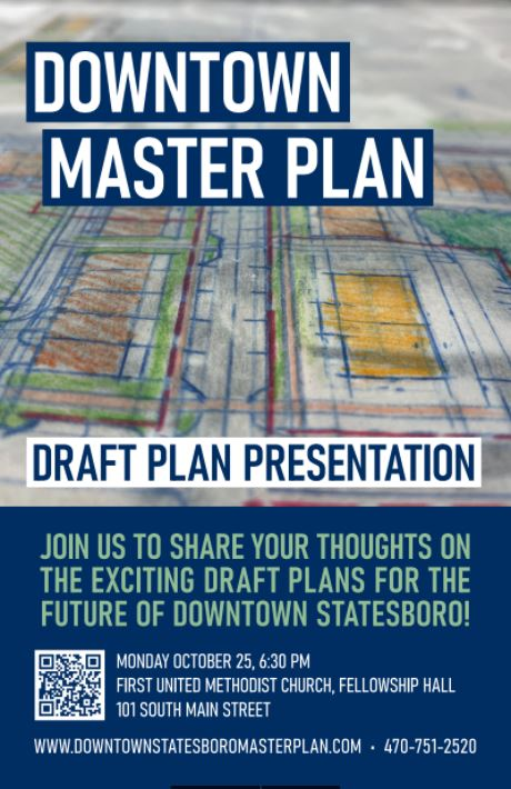 Downtown Statesboro Draft Master Plan Presentation