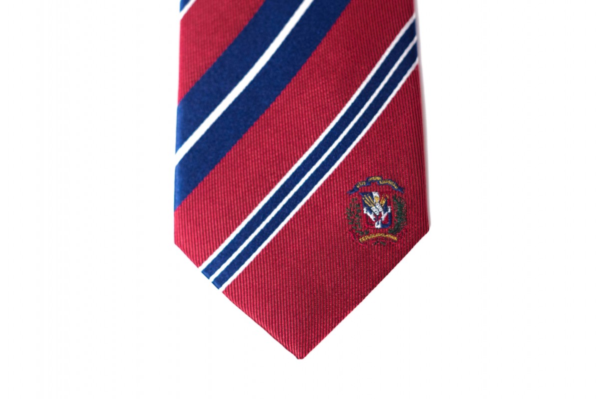 Dominican Republic Skinny Tie