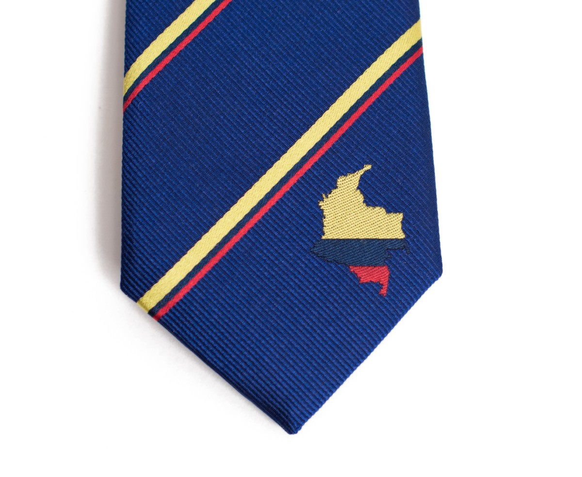 Colombia Skinny Tie