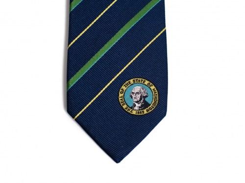 Washington State Skinny Tie
