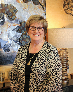 Lisa Becker: One of the interior designers at State Street Interiors is a magician at making a clients visions come to life in their homes