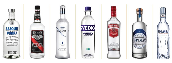 SW1505-Vodka bottles