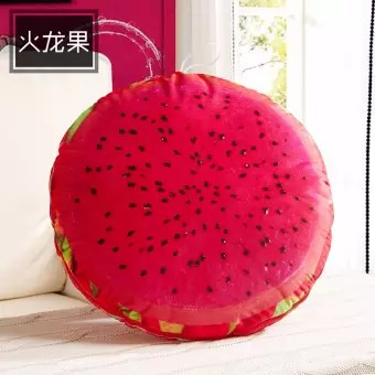 3d fruit pillow fashion by the summer cool air conditioned by the car cushion dual use pillow quilt pitaya