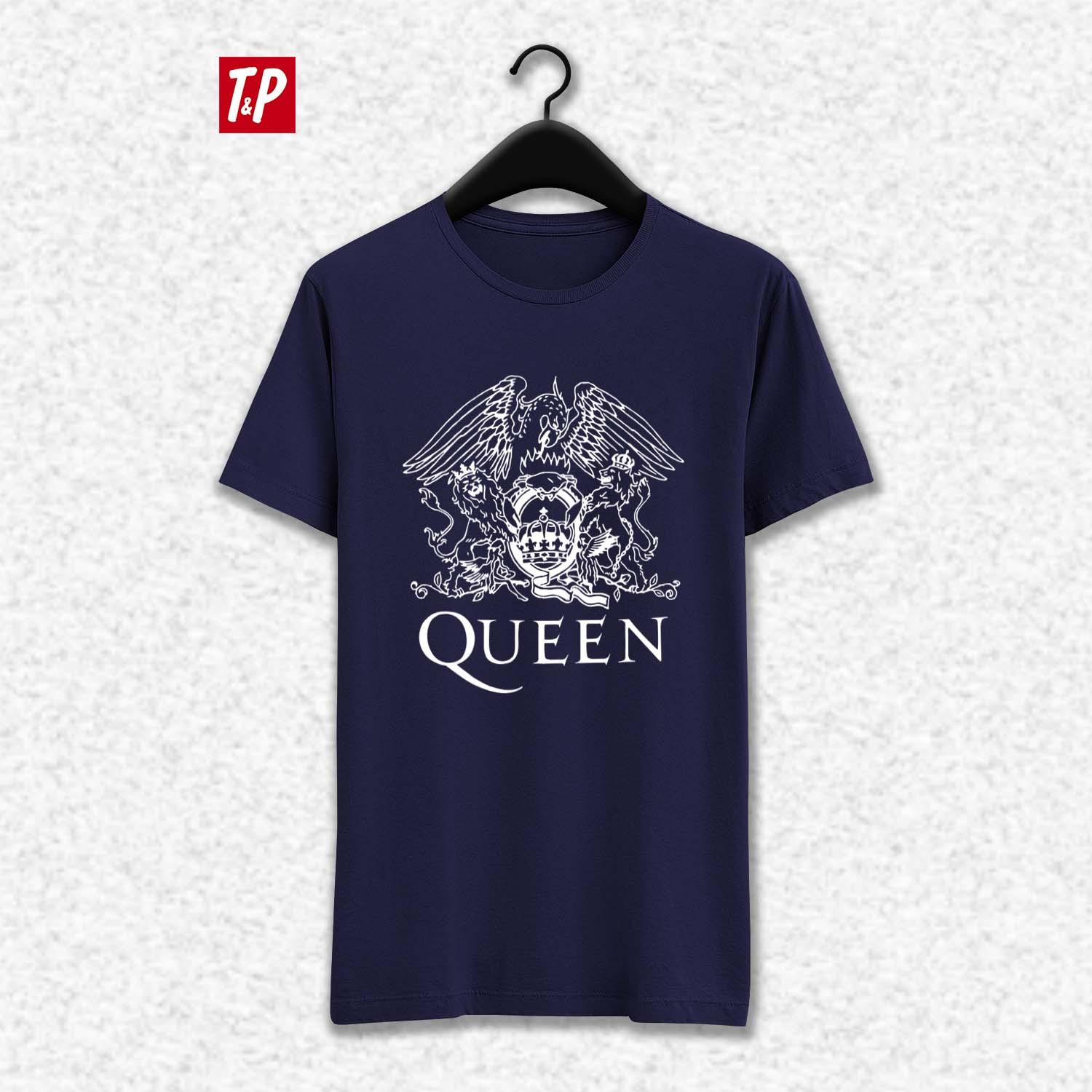 queen printed t-shirt available online