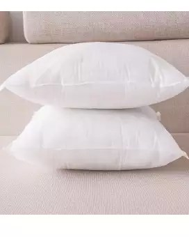 white polyester cushion filling
