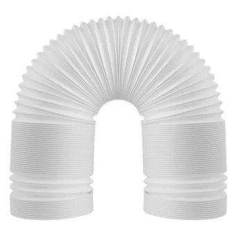 portable air conditioner hose universal pipe air conditioner exhaust hose 5 9 inch width pvc duct extension 1 5m
