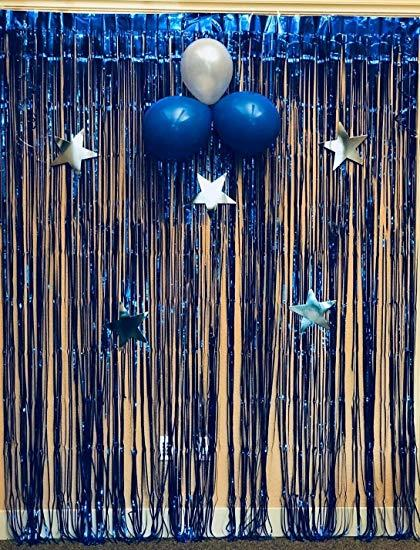 foil curtains backdrop decor metallic foil tinsel fringe curtain birthday party decoration wedding photography backdrop photo booth