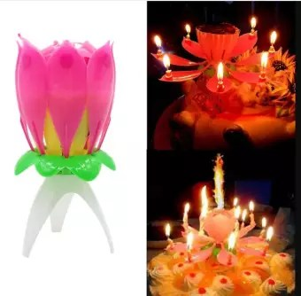 Magic Flower Birthday Candle Buy Online At Best Prices In Pakistan Daraz Pk