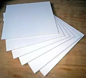 pvc foam board 3mm white 12 x12 6 pieces for different diy purpses use as we shown in the pictures