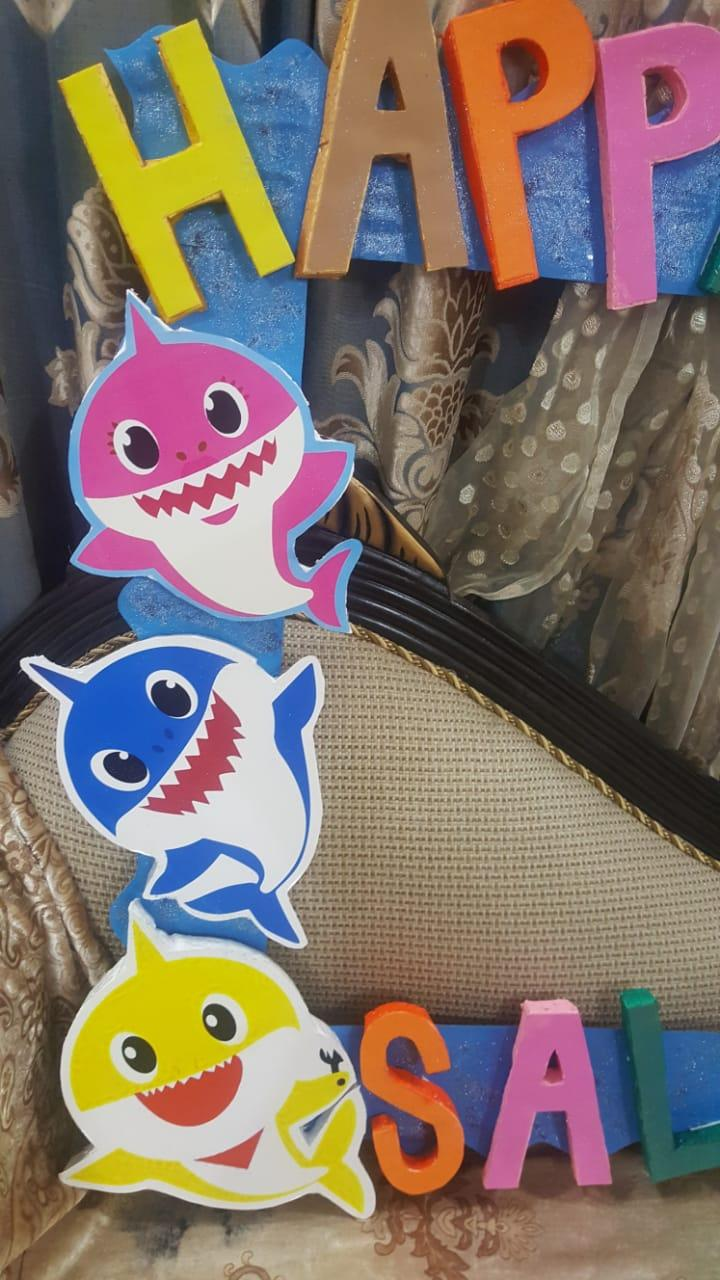 Baby Shark Birthday Decoration Things Party Supplies Embossed Buy Online At Best Prices In Pakistan Daraz Pk